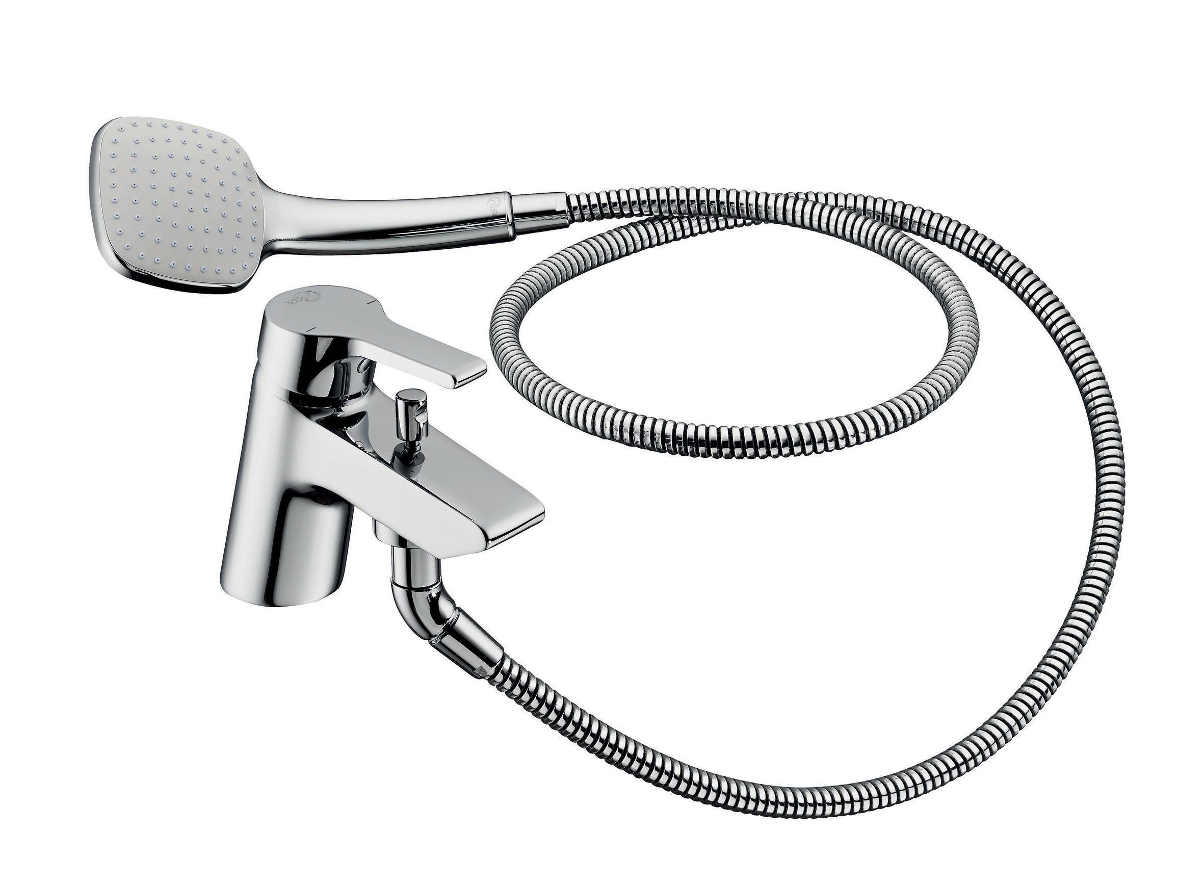 ideal standard taps diy ideal standard active chrome bath shower mixer tap