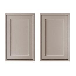 Cooke & Lewis Carisbrooke Taupe Framed Larder Door