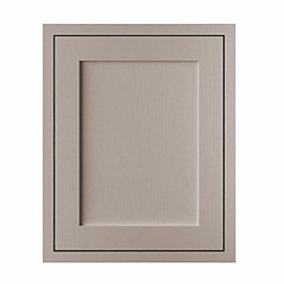 Cooke & Lewis Carisbrooke Taupe Framed Tall Single