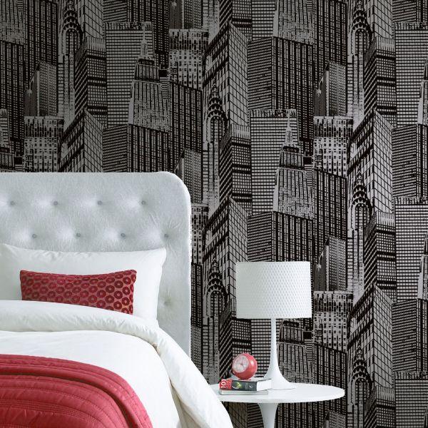 Conversational Wallpaper. Wallpaper   Painting   Decorating   DIY at B Q