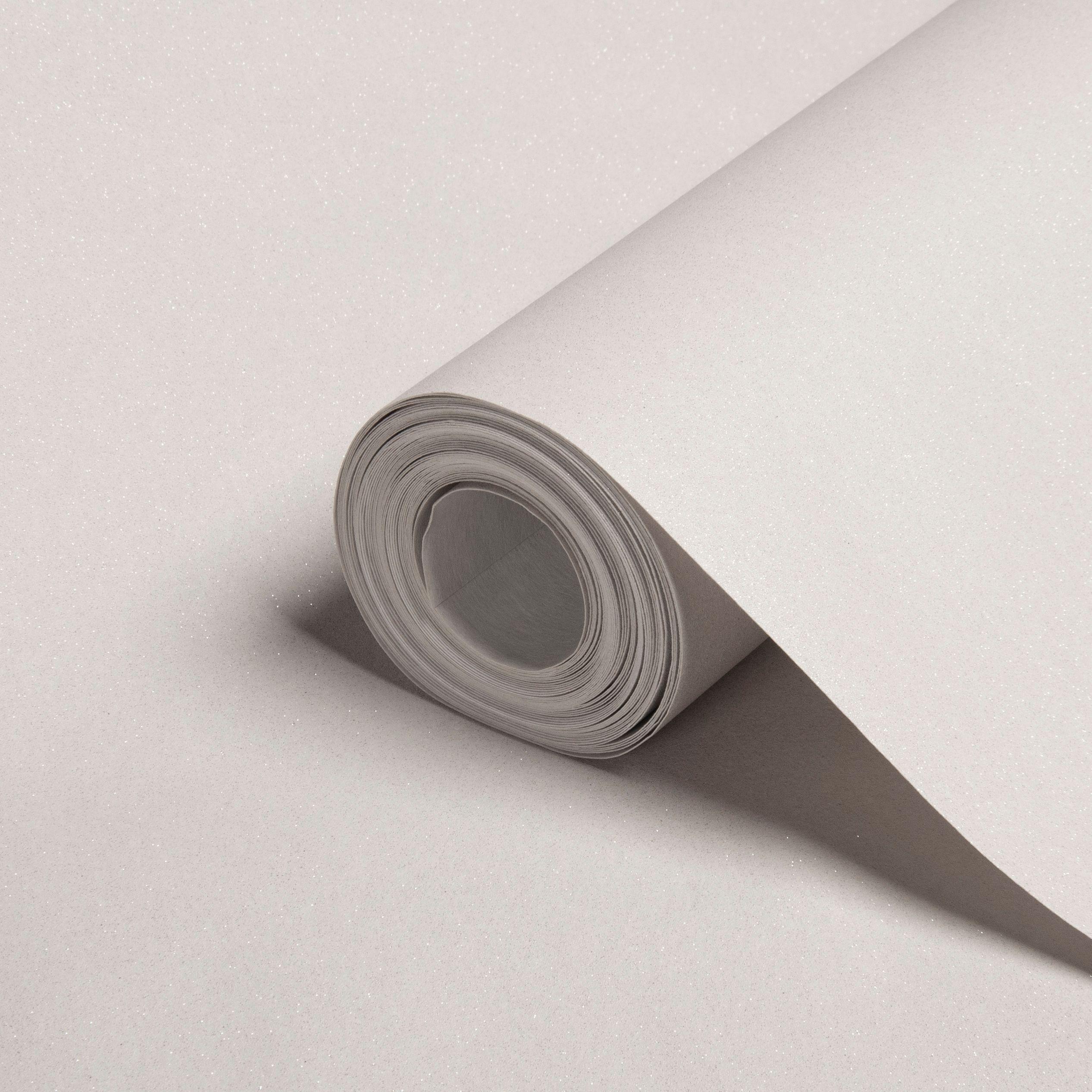 A.s. Creation Grey Plain Glitter Effect Wallpaper