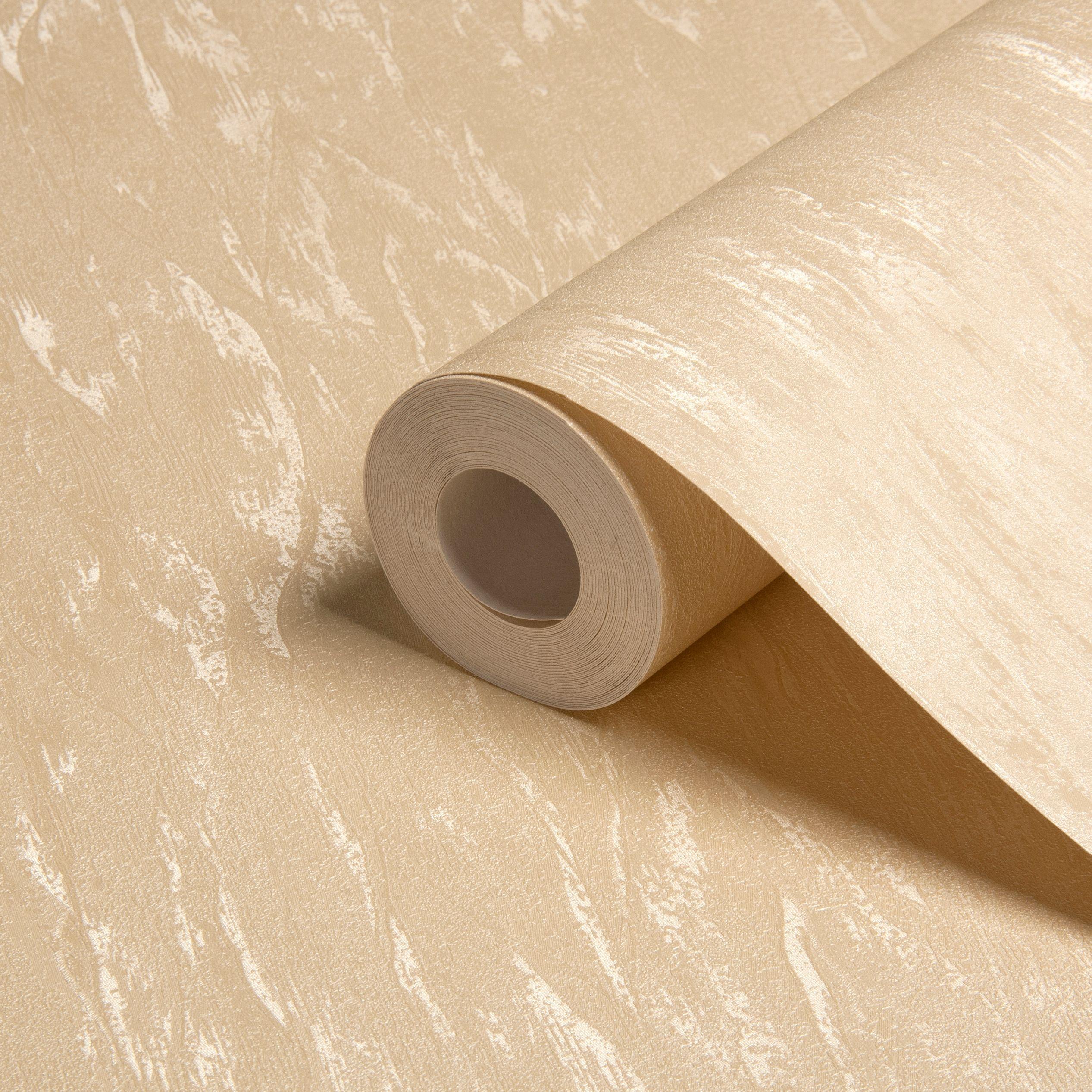 As Creation Satin Cream Textured Wallpaper