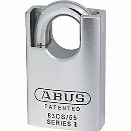 Abus 83 Series Cs Hardened Steel Keyed Padlock