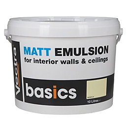 Vectra Basic Magnolia Matt Emulsion Paint 10L