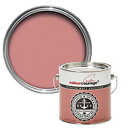 colourcourage Sucia Rosa Matt Emulsion Paint 2.5L