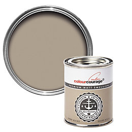 colourcourage Shore Rocks Matt Emulsion Paint 0.125L Tester