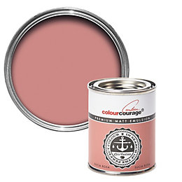 colourcourage Sucia Rosa Matt Emulsion Paint 0.125L Tester