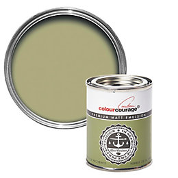 colourcourage Herbe De Provence Matt Emulsion Paint 125ml