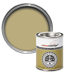 colourcourage Mango Green Matt Emulsion Paint 0.125L Tester