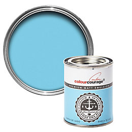 colourcourage Barca De Lago Matt Emulsion Paint 125ml