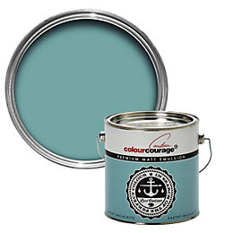 colourcourage Earthy Malachite Matt Emulsion Paint 2.5L