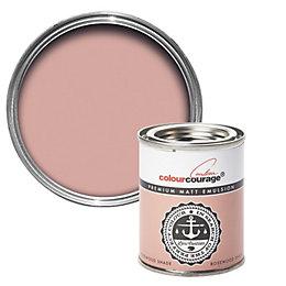 colourcourage Rosewood Shade Matt Emulsion Paint 125ml Tester