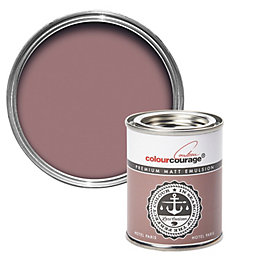 colourcourage Hotel Paris Matt Emulsion Paint 125ml Tester