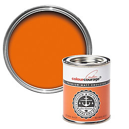 colourcourage Retired Buoy Matt Emulsion Paint 125ml Tester