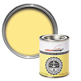 colourcourage Osteria Ciona Matt Emulsion Paint 125ml Tester