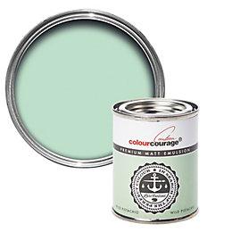 colourcourage Wild Pistachio Matt Emulsion Paint 125ml Tester
