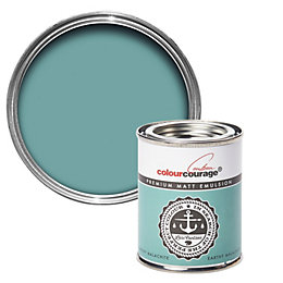 colourcourage Earthy Malachite Matt Emulsion Paint 125ml Tester