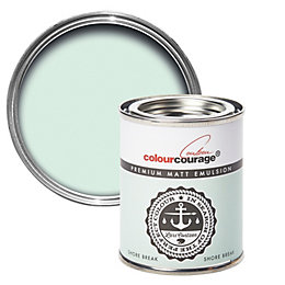 colourcourage Shore Break Matt Emulsion Paint 125ml Tester