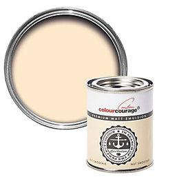 colourcourage Nut Smoothie Matt Emulsion Paint 125ml Tester