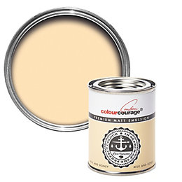 colourcourage Milk & Honey Matt Emulsion Paint 125ml