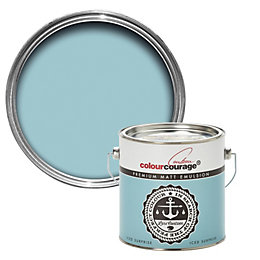 colourcourage Iced Surprise Matt Emulsion Paint 2.5L