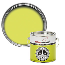 colourcourage Bergamot Squeeze Matt Emulsion Paint 2.5L