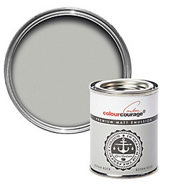 colourcourage Royan Rock Matt Emulsion Paint 0.125L Tester