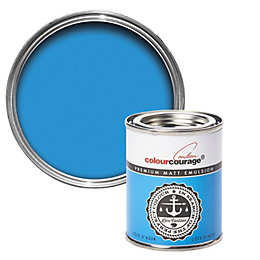 colourcourage Cote D'Azur Matt Emulsion Paint 125ml Tester