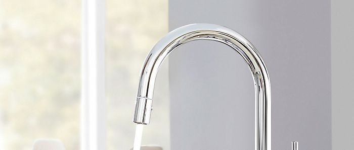 Grohe C-Touch tap spout
