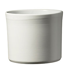 Miami White Plant Pot (H)710mm (L)140mm (Dia)180mm