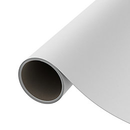 D-C-Fix Plain White Matt Self Adhesive Film (L)2m