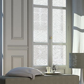 Window with static window film