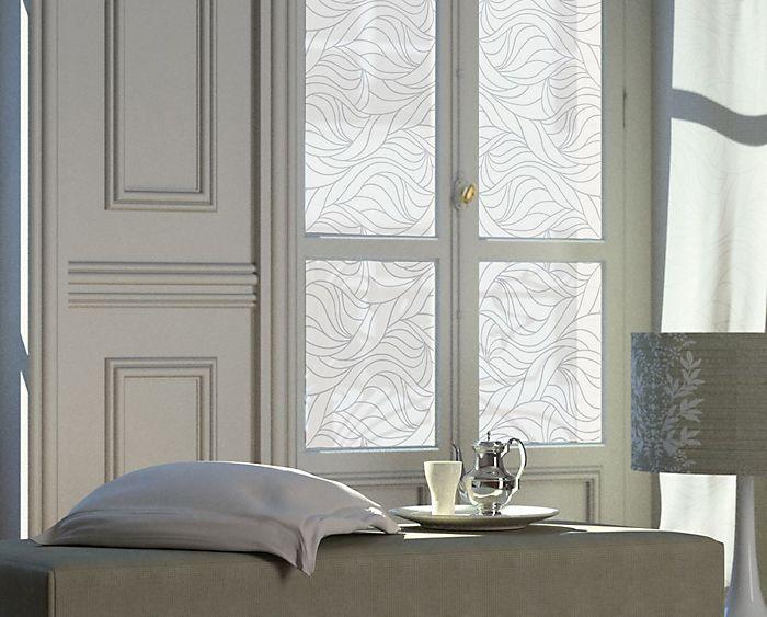 Window with static window film