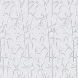 D-C-Fix Bamboo White Static Cling Window Film (L)1.5m
