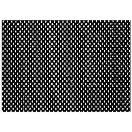 D-C-Fix Black Rubber Bath Mat (L)1500mm (W)300mm