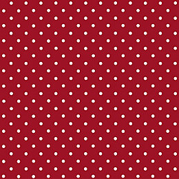 D-C-Fix Polka Dot Red Self Adhesive Film (L)2m