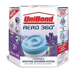 Unibond Aero 360 Moisture Absorber System Lavender Refill,