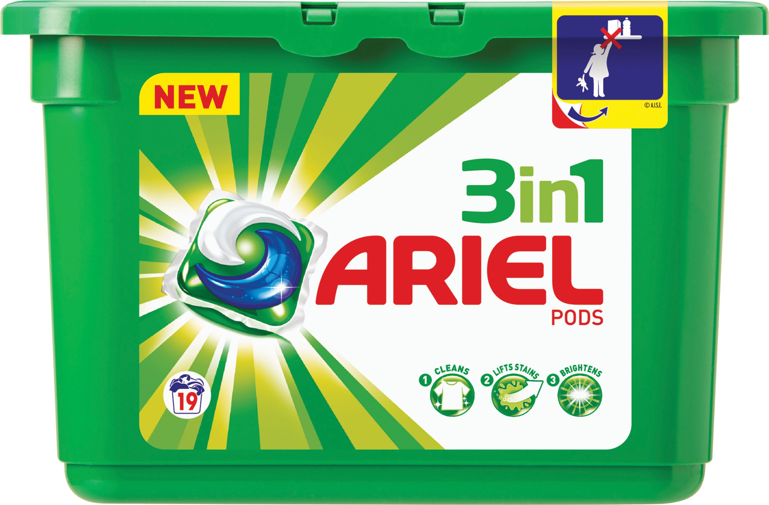 Shower curtains for kids bathroom - Ariel Liquitabs Washing Up Liquid Pack Of 19 Departments Diy At B