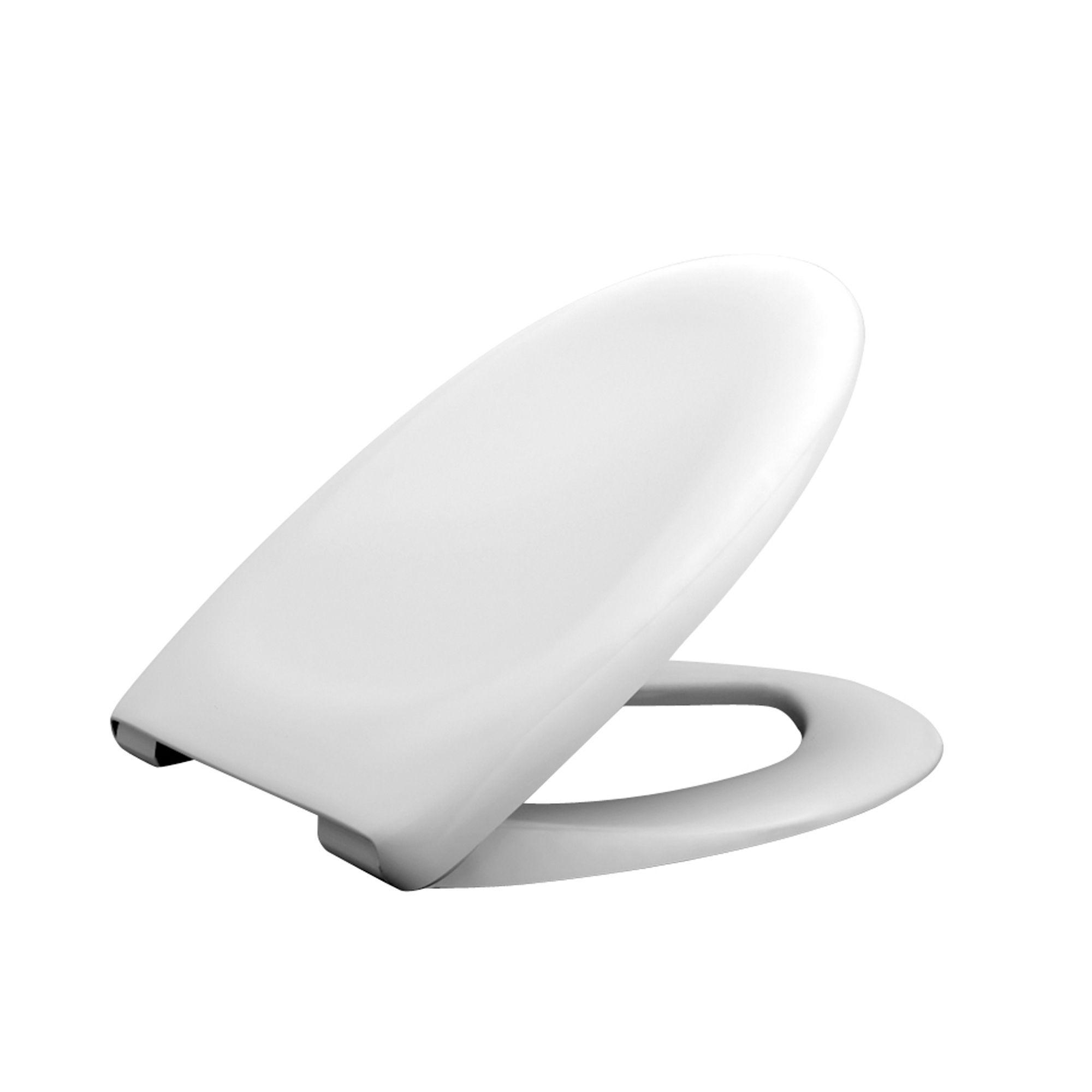 White Plastic Toilet Seat DIY