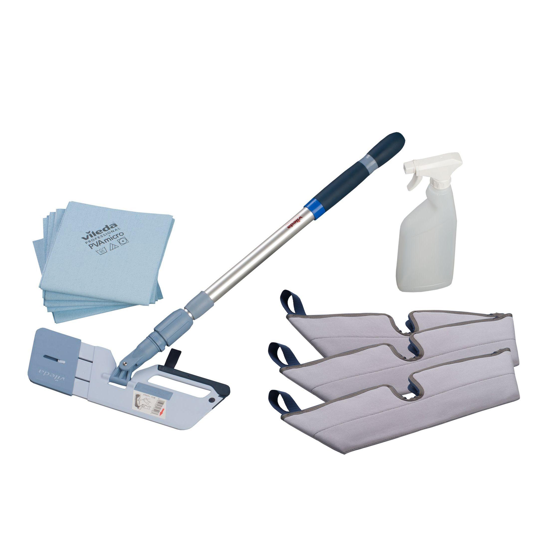 Vileda Professional Interior Window Cleaning Kit W 96mm Departments Diy At B Q