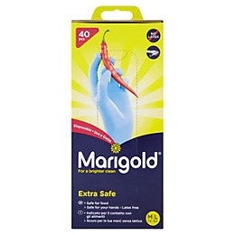 Marigold Medium/Large Household Nitrile Disposable Gloves, Pack