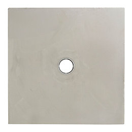 Cooke & Lewis Liquid Square Shower Tray (L)900mm