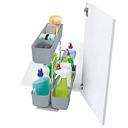 Kesseböhmer Base Cabinet Cleaning Agent Storage, 300mm