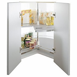 Kesseböhmer Corner Cabinet Three Quarter Carousel, 1000mm