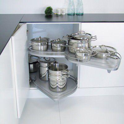 good Kitchen Cabinet Carousel #8: Bu0026Q