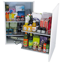 Kesseböhmer RH Magic Corner Cabinet Storage, 900-1000mm