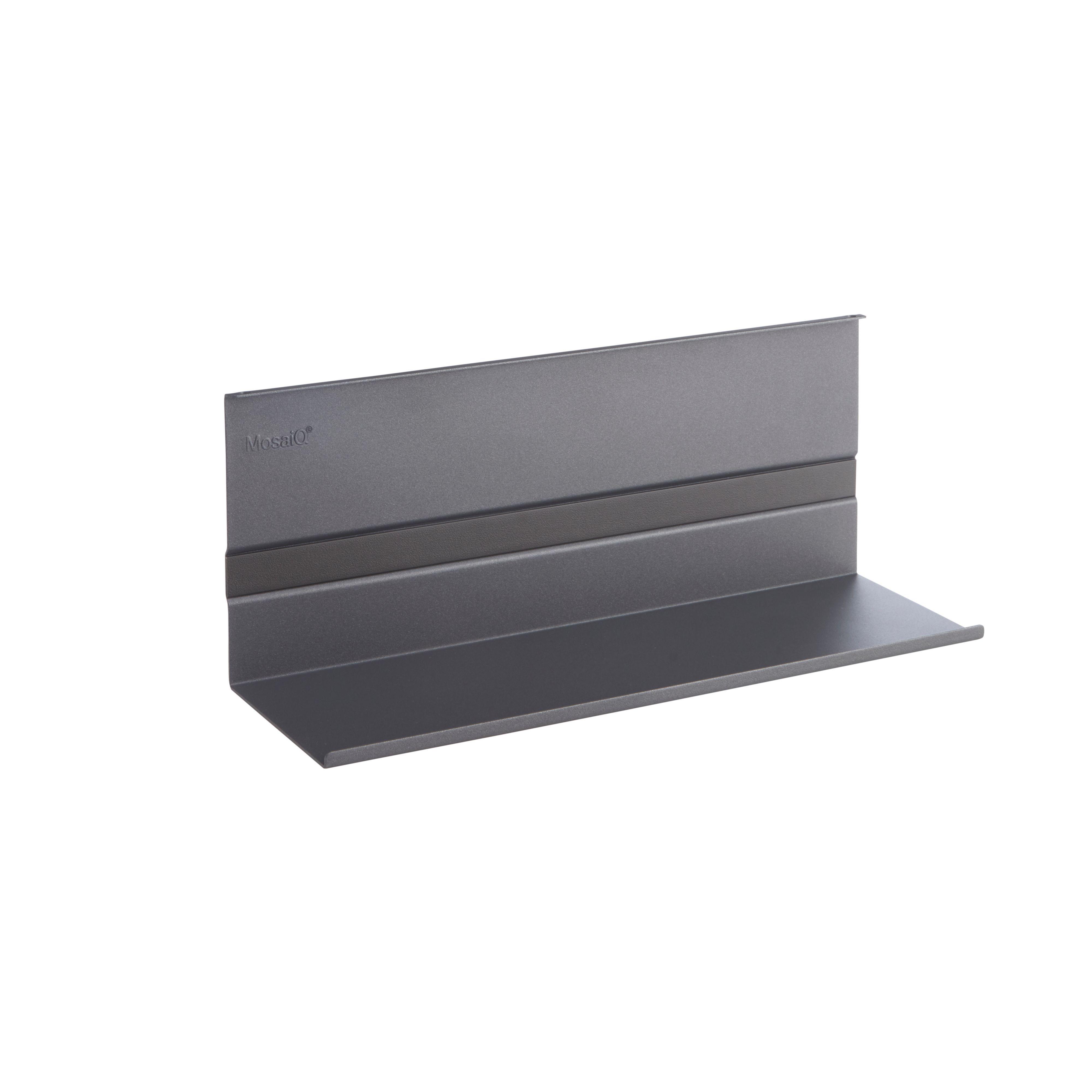 Kesseböhmer Linero Mosaiq Brushed Silver Effect Shelf (h)140mm