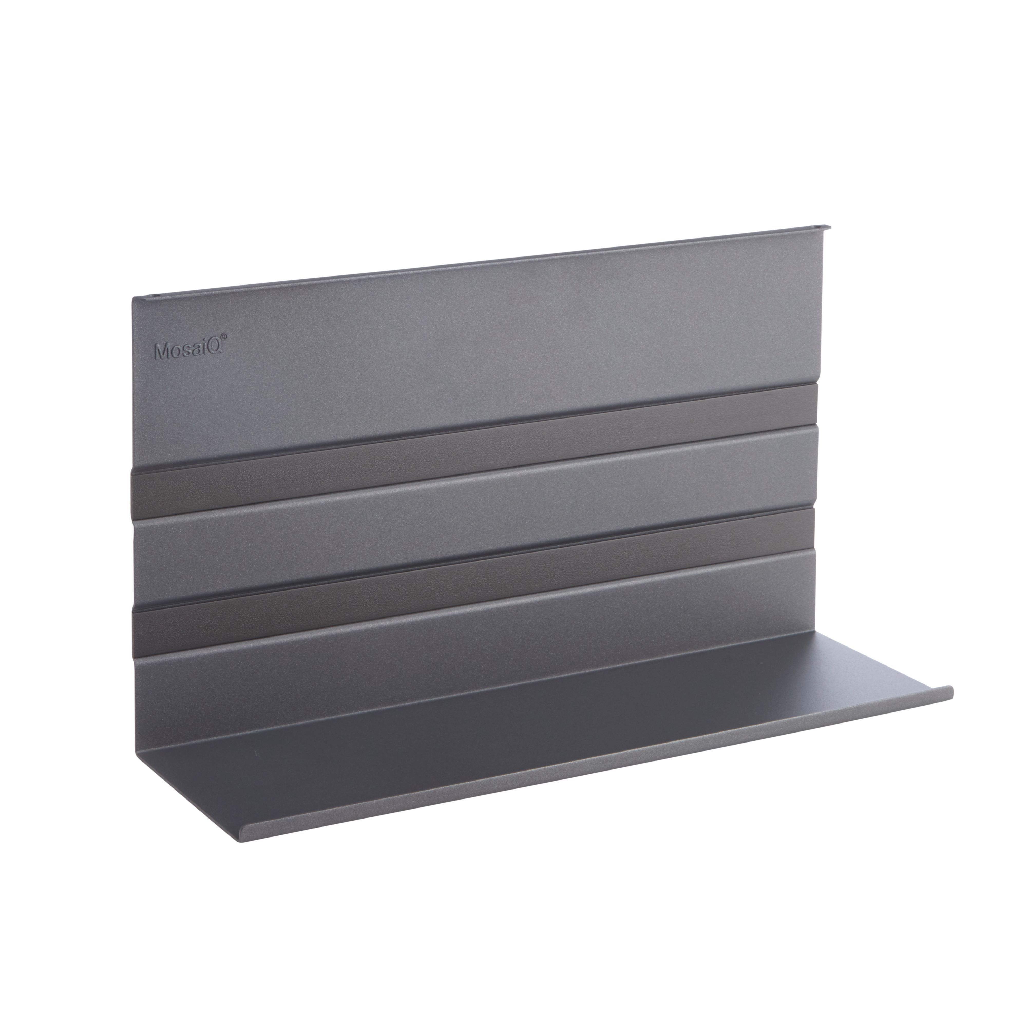 Kesseböhmer Linero Mosaiq Brushed Silver Effect Shelf (h)200mm