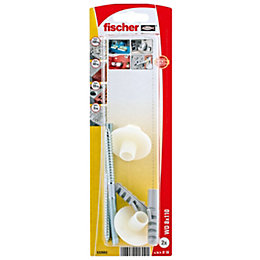 Fischer Washbasin Fixing Caps (L)110 mm, Pack of
