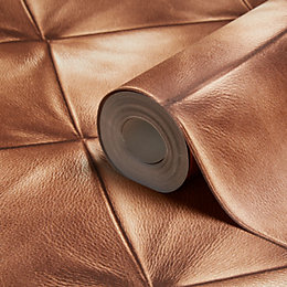 A.S. Creation Move Your Wall Brown Leather Effect
